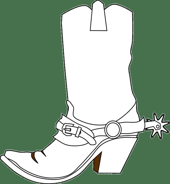 Botas Vaqueras Espuelas Bota · Gráficos vectoriales gratis