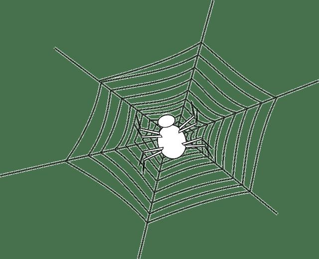 Spider Web Halloween · Free vector graphic on Pixabay