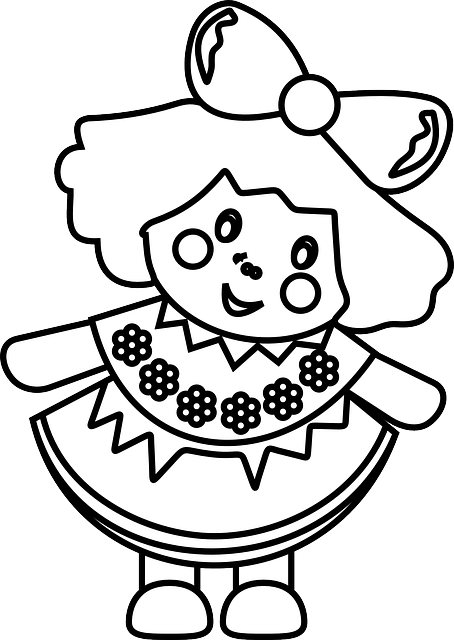 Doll Girl Toy · Free vector graphic on Pixabay