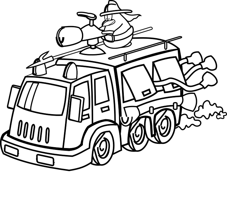 Truck Armored Gun-Mounted · Free vector graphic on Pixabay