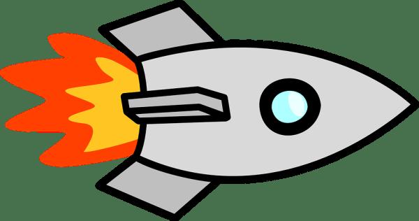 rocket launch spaceship free