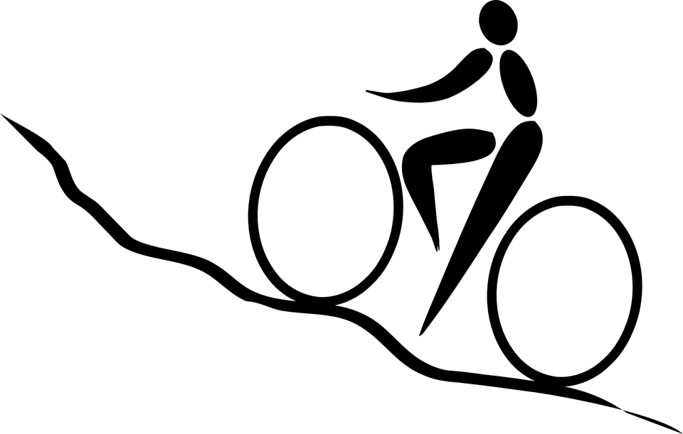 Cycling Biking Uphill · Free vector graphic on Pixabay