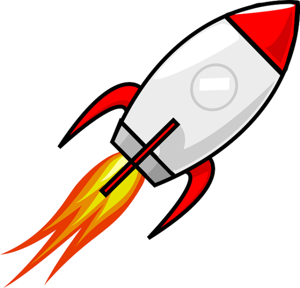 rocket space ship free vector