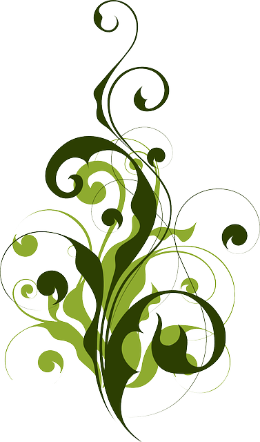 Flora Abstract Filigree  Free vector graphic on Pixabay