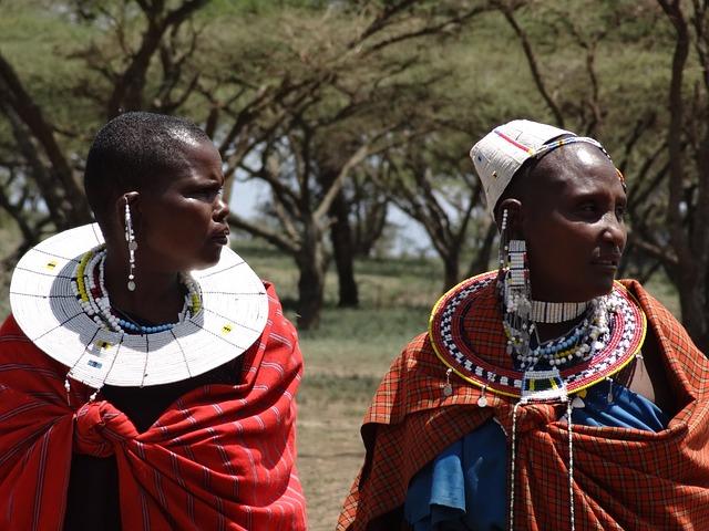 Free Photo Masai Visit To The Masai Women Free Image