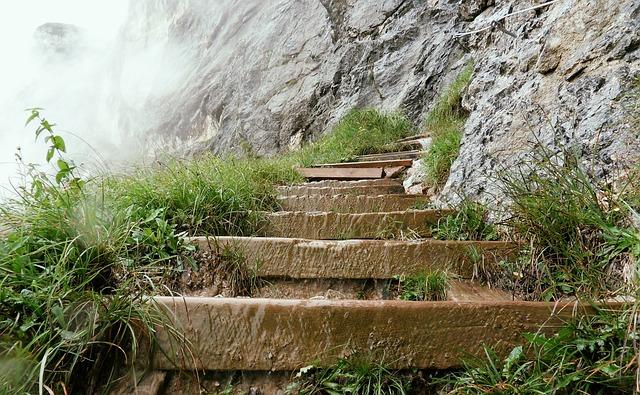 Free photo Unterberg Climb Stairs  Free Image on