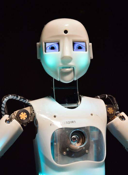 Free photo Robot Android Machine Futuristic  Free