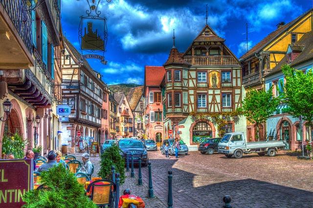 Foto gratis Kaysersberg Alsace Francia  Immagine gratis su Pixabay  356959