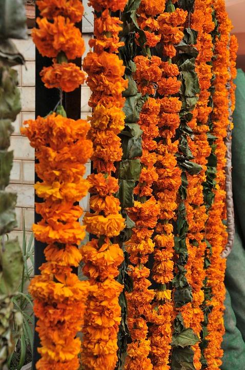 Free photo Flowers Garland Decoration  Free Image on
