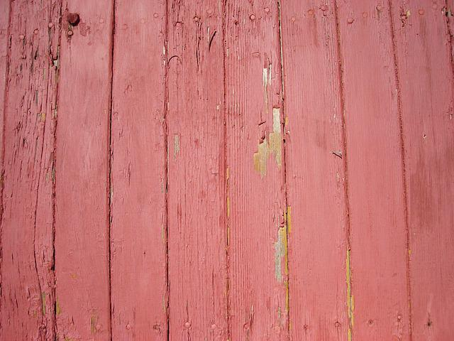 Free photo Wood Paneling Red Paint Texture  Free