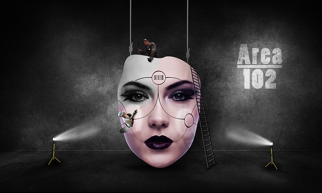 1920x1080 Wallpaper Futuristic Girl Robot Face Surreal 183 Free Image On Pixabay