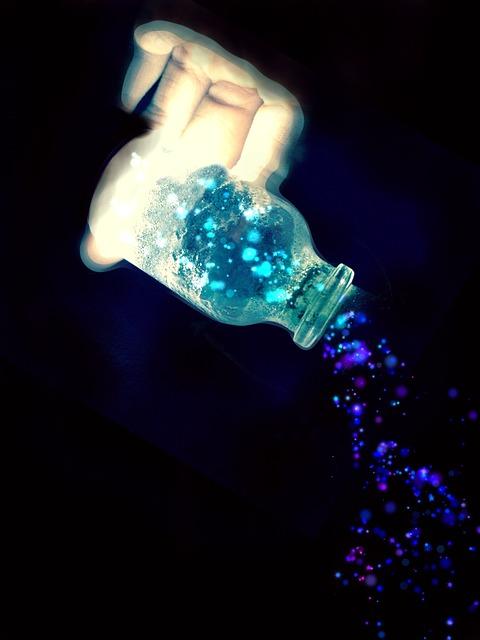 Free illustration Glass Bottle Light Magic Blue  Free Image on Pixabay  384951