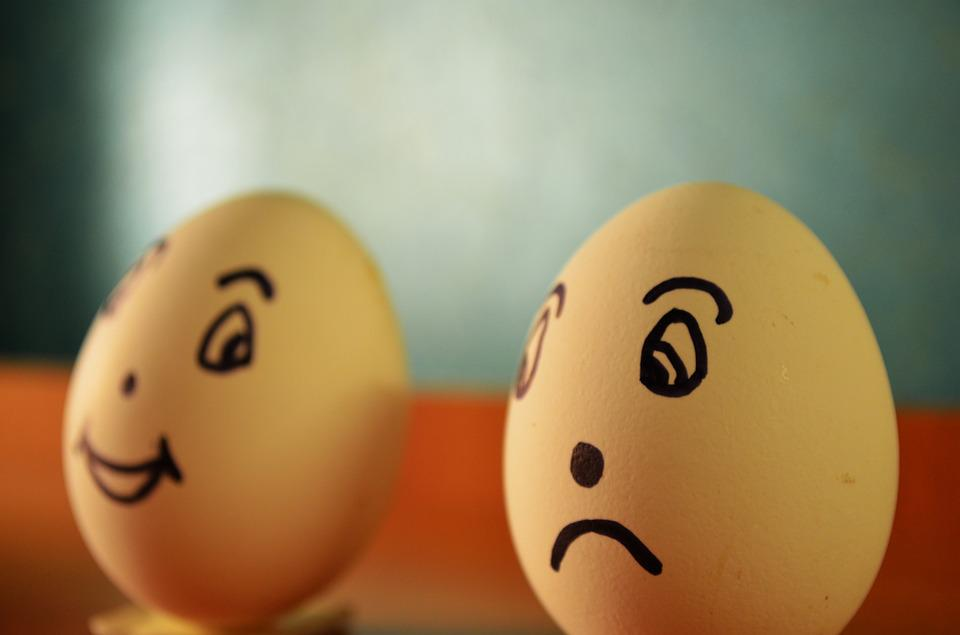 Emoticons Cute Wallpaper Free Photo Eggs Expression Happy Sad Free Image On