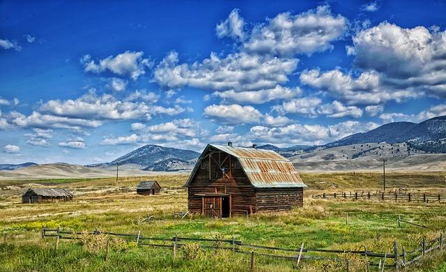 Fall Farm Wallpaper Montana Barn Landscape 183 Free Photo On Pixabay