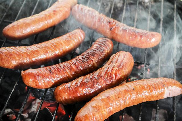 Sausage Grill Barbecue At The  Free photo on Pixabay