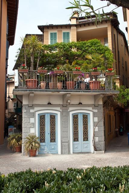 Free photo Balcony Garden Plant Pots  Free Image on