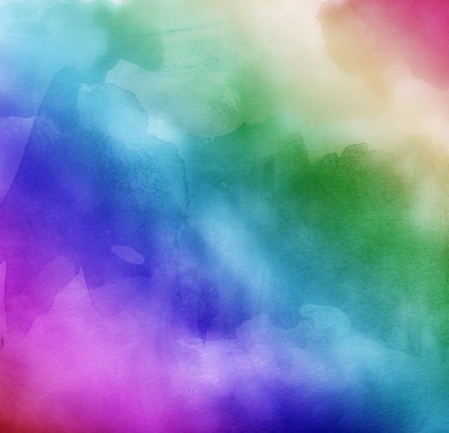 Fun Fall Desktop Wallpaper Watercolors Rainbow Colors Lilac 183 Free Photo On Pixabay