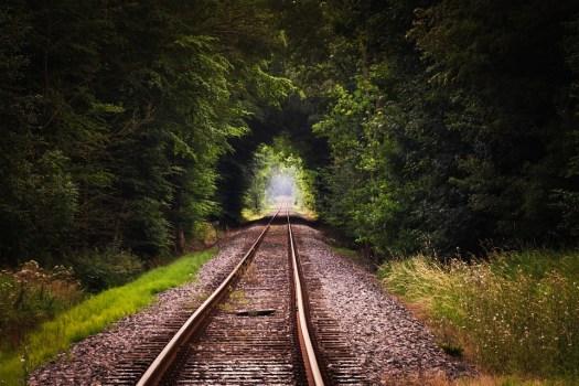 Gleise, Rotaie, Treno, Argine Ferroviario