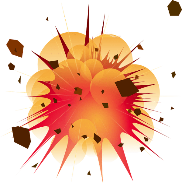 Explosion Detonation Boom Free vector graphic on Pixabay