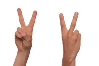 Gesture, Sign Language, Finger, V, Victory, Peace, Second, Two