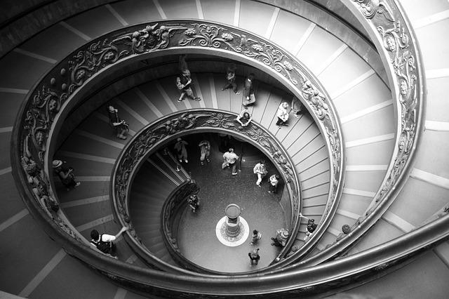 Free Photo Spiral Staircase Scale Round Free Image On