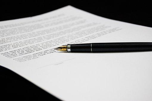 Dokument, Umowa, Dokumenty, Podpisywać