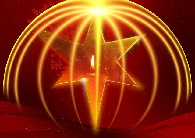 Weihnachtsstern Advent Stern Kostenloses Bild Auf Pixabay