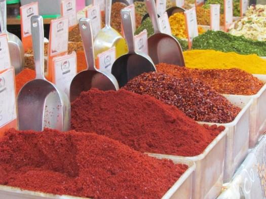 Especiarias, Mercado, Bazar, Jerusalém, Alimentos