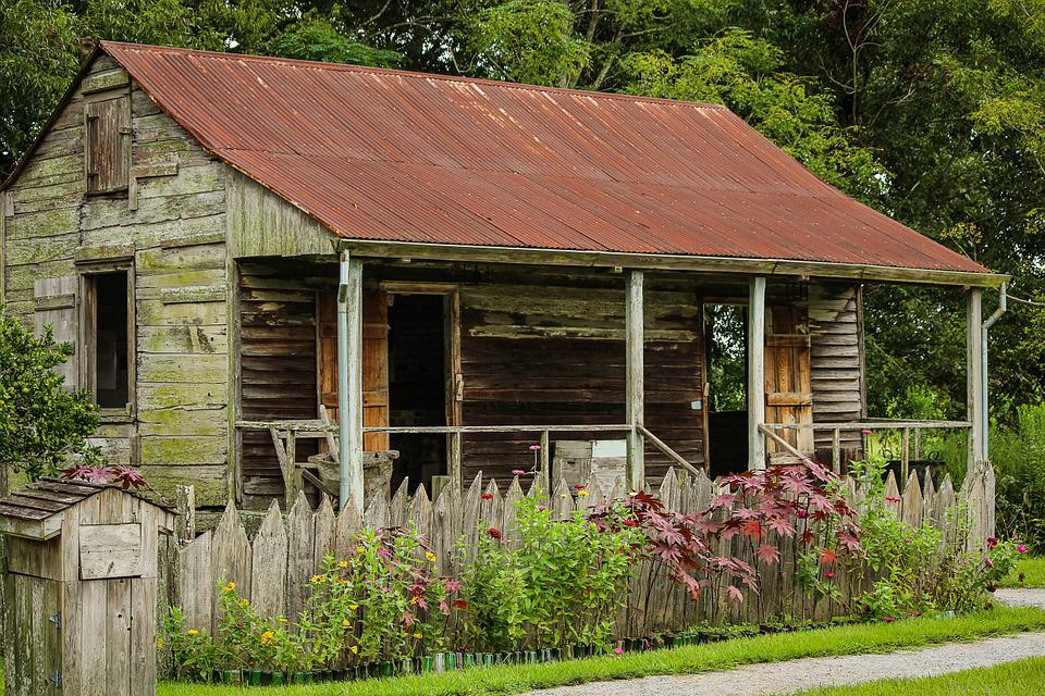 Fall Cottage Wallpaper Free Photo Slave Cabin Laura Plantation Free Image On
