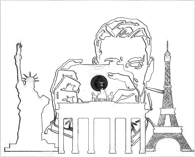 Tourist Drawing Pencil · Free image on Pixabay