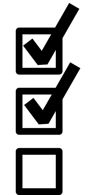 Checklist Evaluation Selection · Free vector graphic on
