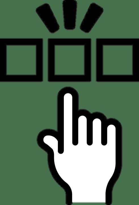 Kostenlose Vektorgrafik: Auswahl, Wählen Sie, Wählte, Wahl