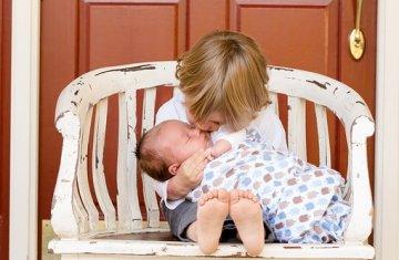 Brothers, Boys, Kids, Baby, Newborn