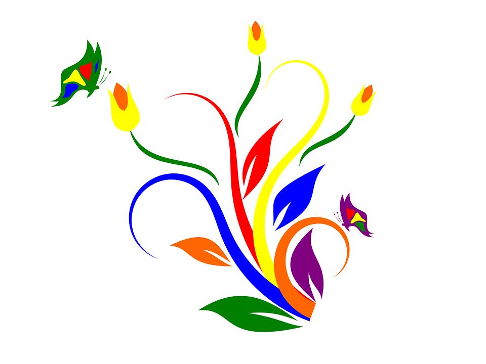 flower artwork floral free