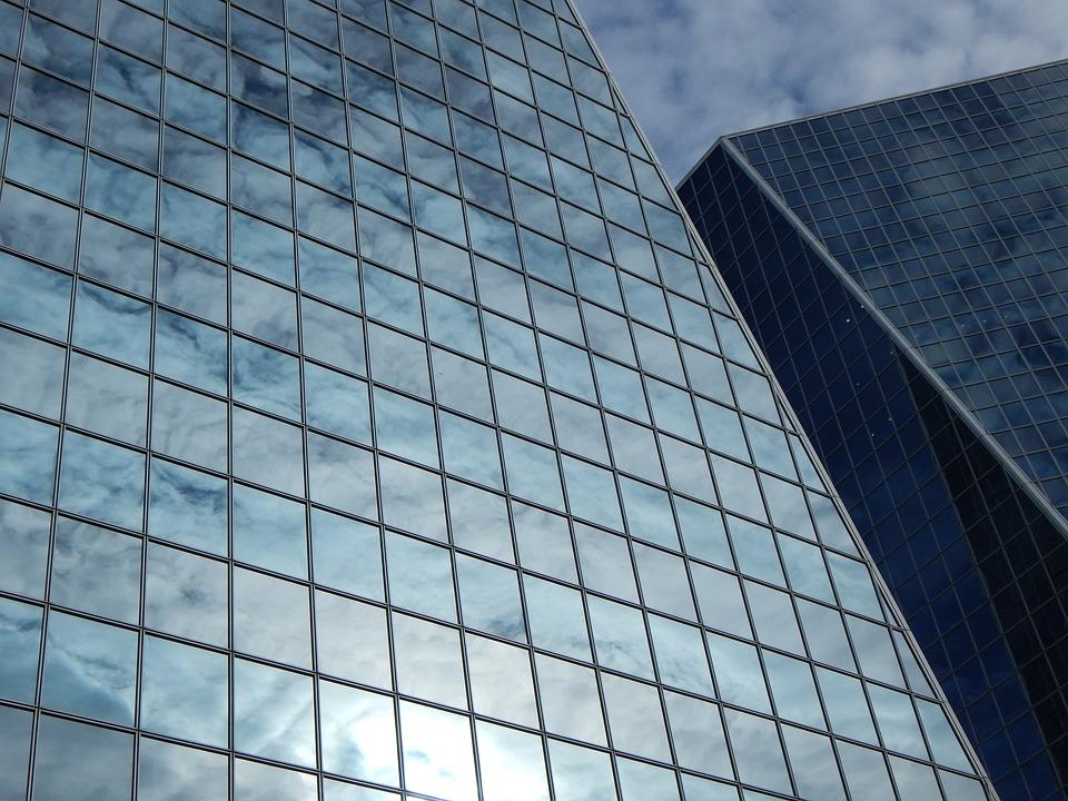 buildings glass windows building architecture