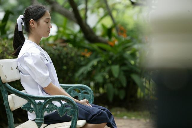 Girl Asian Sitting  Free photo on Pixabay