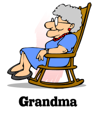 Grandma Granny Gran Rocking  Free image on Pixabay