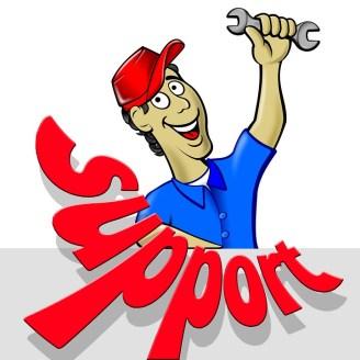 Support, Comic, Figure, Man, Mechanic, Friendly
