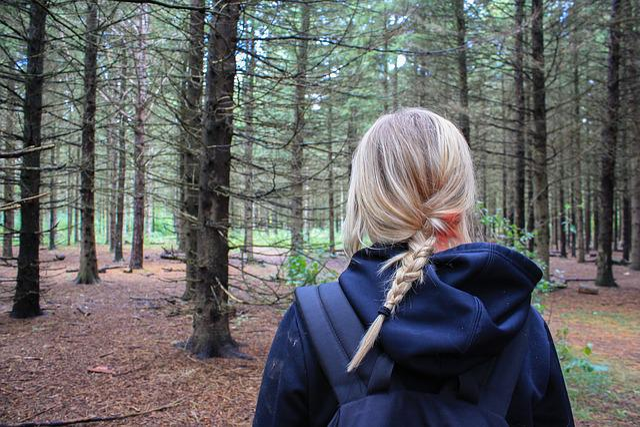 Free photo Woman Girl Hiker Backpacker  Free Image on