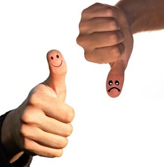 Opposites, Thumb, Positive, Negative