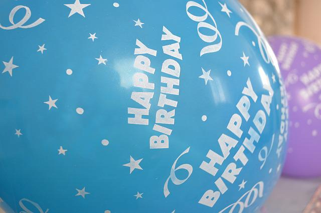 Free Photo Happy Birthday Balloons Blue Free Image On