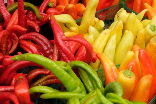 Peperoni, Veggies, Veg, Vegetale, Organici, Fresco