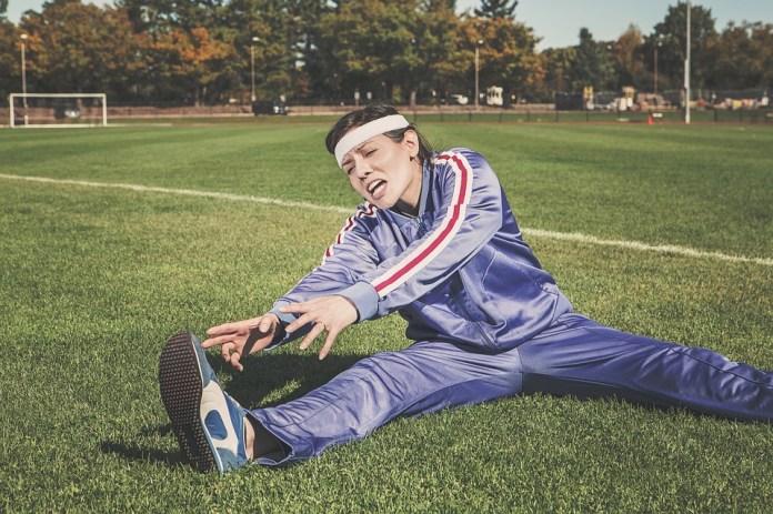 Estiramiento, Deportes, Mujer, Atleta, Fitness, Deporte