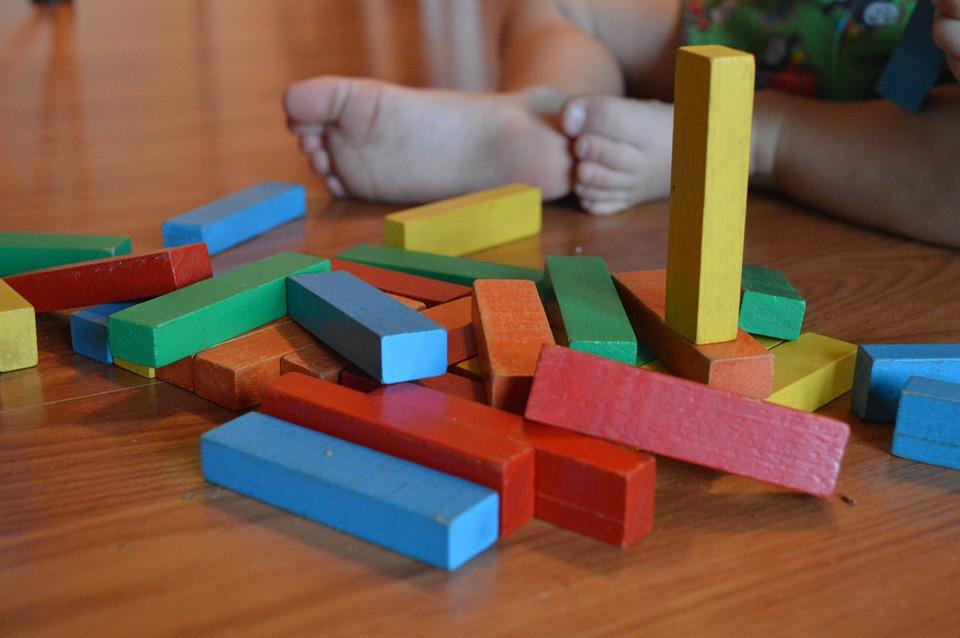 Bloques, Niño, Juguete, Educación, Juego, Infancia
