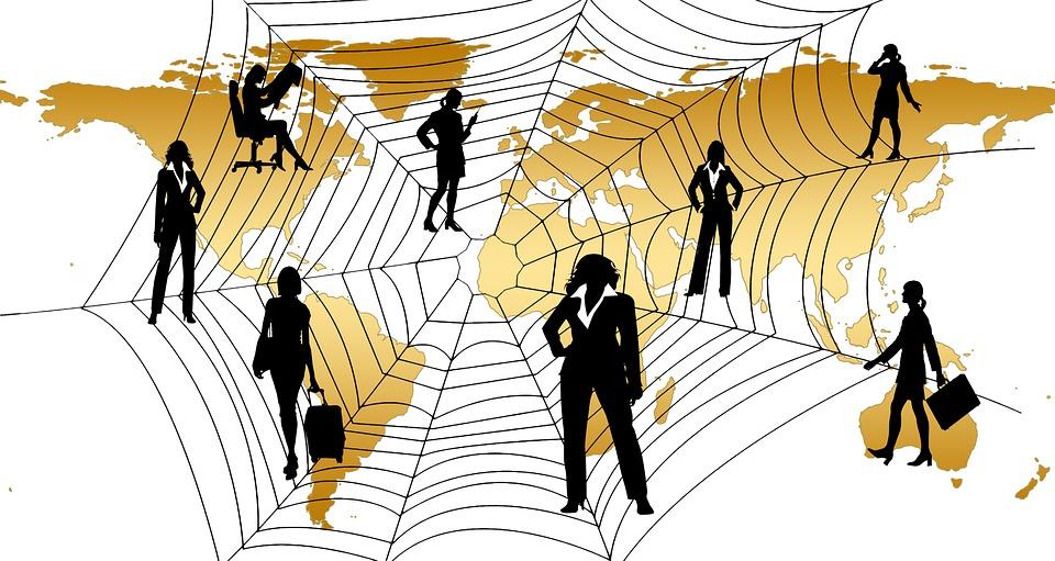 Free Illustration Executive Businesswoman World Free