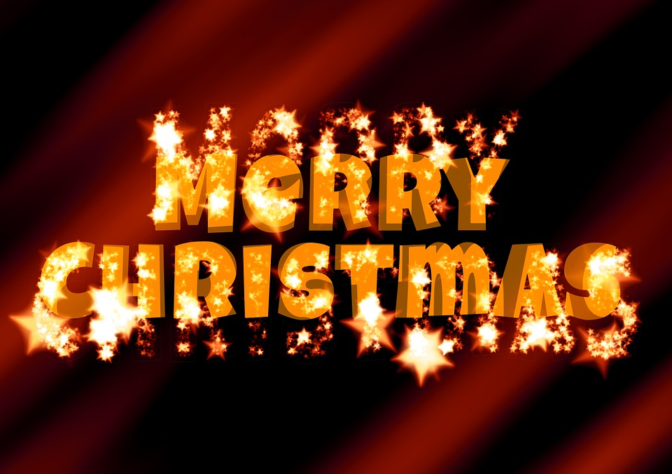 Free Illustration Christmas Merry Festival Happy