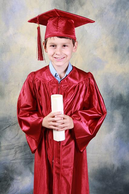 Graduation Kindergarten Free Photo On Pixabay