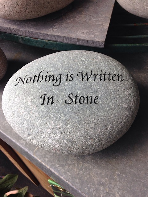 Free Photo Nothing Is Written In Stone Rock Free Image