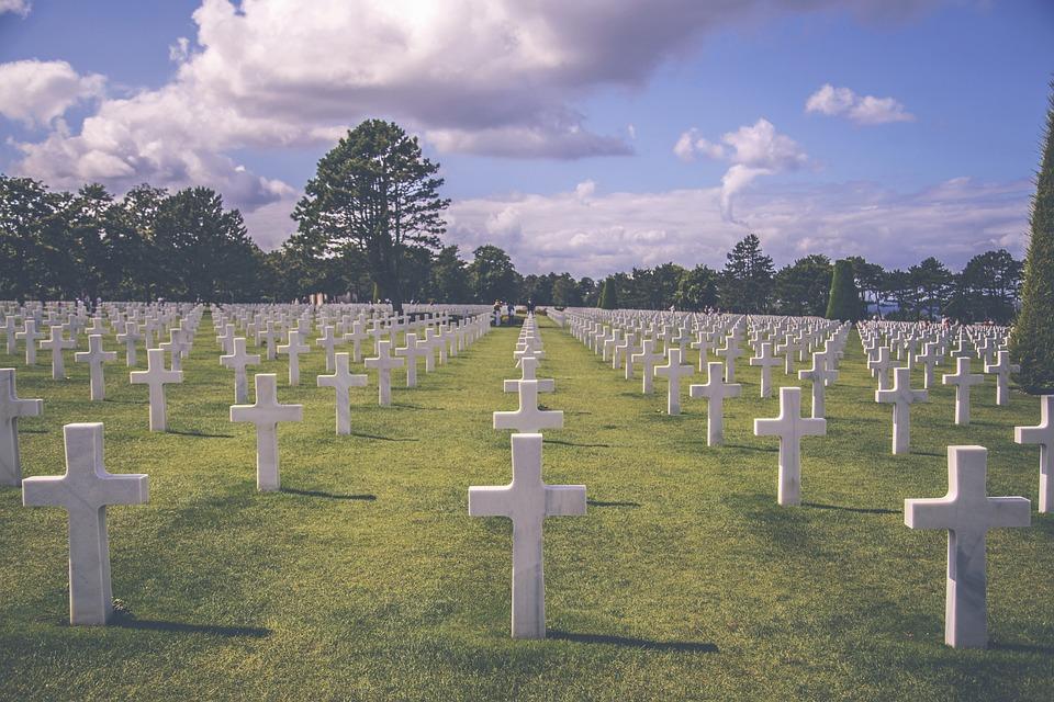 Graveyard, Military, Cemetery, War, Soldier, Grave