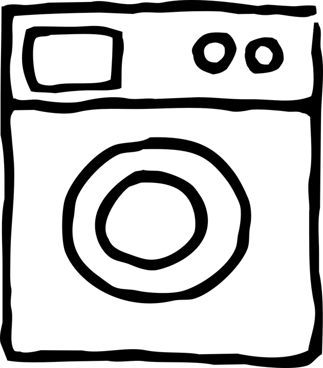 Free vector graphic: Washing Machine, Cleaning, Device